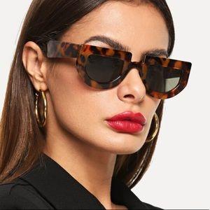 Unique brown sunglasses